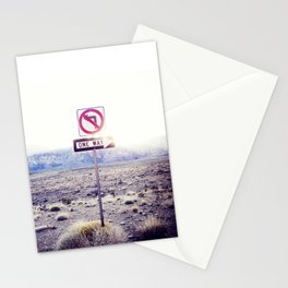 One Way to nowhere Stationery Cards