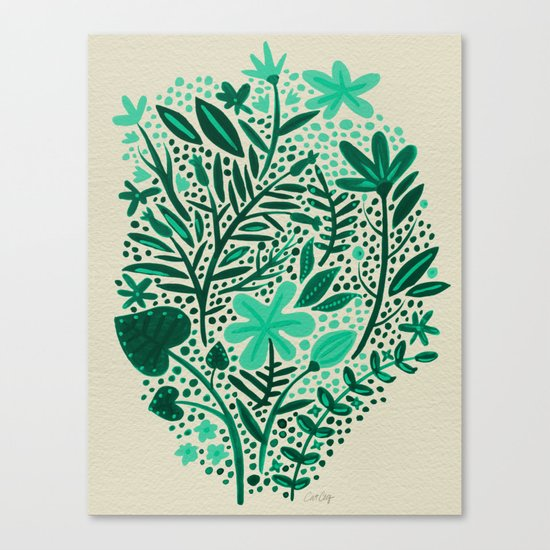 Green Garden Canvas Print