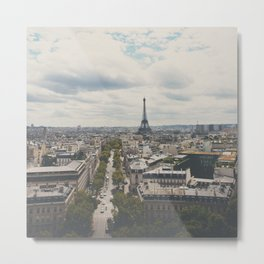 from atop the Arc ... Metal Print