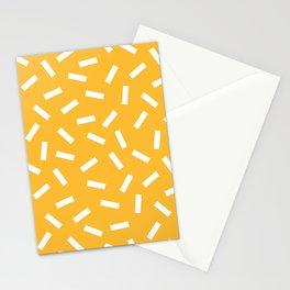 White + Macaroni Stationery Cards