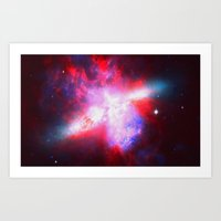 Space. In Color. Art Print