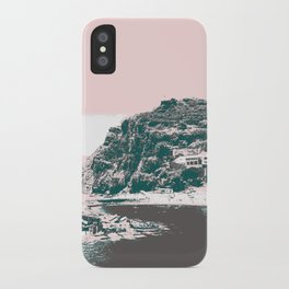 village by the sea. iPhone Case