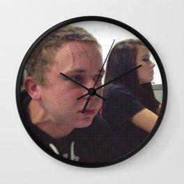 Censored Fart Guy Wall Clock