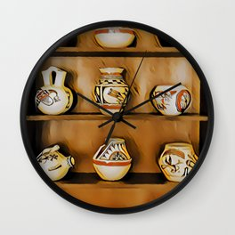 Indian Cupboard - Graphic 1 Wall Clock