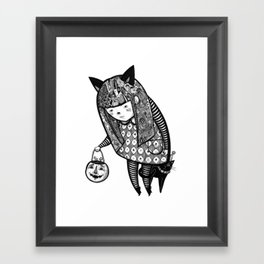 Little Trick Framed Art Print