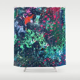 Compressed Depiction of a Compressed Universe in G Shower Curtain
