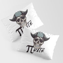 Pirate Funny Math Pun Pi Day Gift Math Science Lover Pi day Pillow Sham