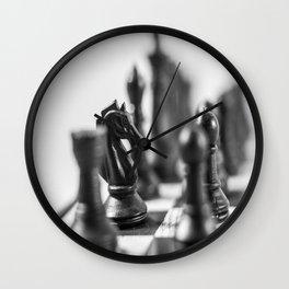 Dark Horse-Knight Wall Clock