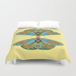 butterfly (ORIGINAL SOLD). Duvet Cover