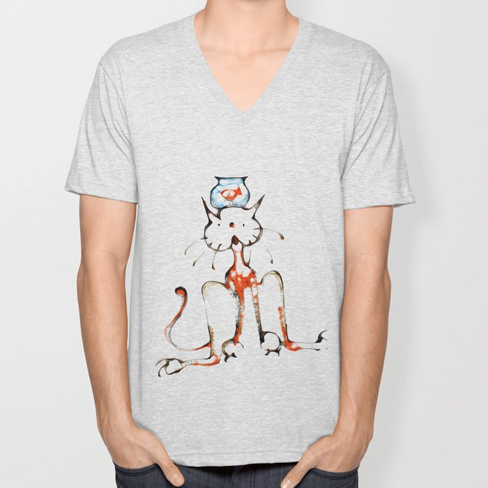 cool sketch 201 Unisex V-Neck