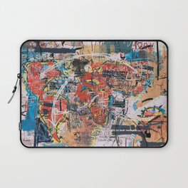 World Mapsqiuat Laptop Sleeve