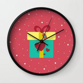 Regalo de navidad Wall Clock