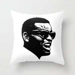 Brother Ray Throw Pillow