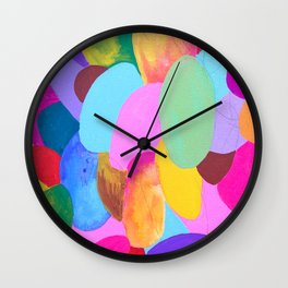 Overly Over It Wall Clock