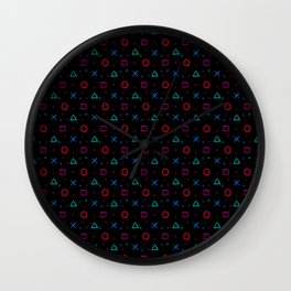 Play Now! Wall Clock
