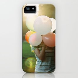 balloon head iPhone Case