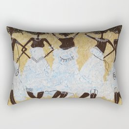 African Girls Rectangular Pillow