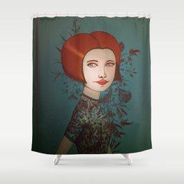 Miss Hari Shower Curtain