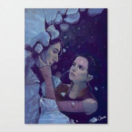 Reylo: The Duality of Balance Canvas Print