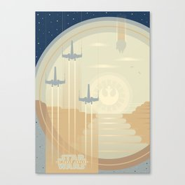 Ships of the Force Awakens Canvas Print
