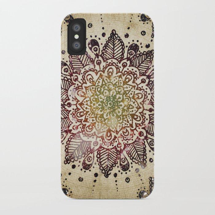 Blackberry Burst iPhone Case