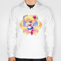 sailor moon Hoodies featuring Sailor Moon by Corpse Cutie