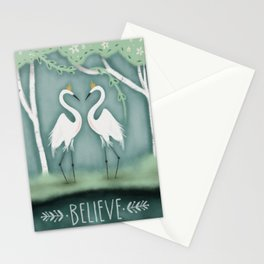The Crane Princesses Stationery Cards