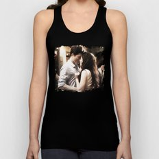 Edward and Bella from Twilight - Painting Style Unisex Tank Top