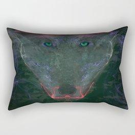 Shadows Howl Rectangular Pillow