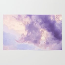 Purple Pink Clouds Rug