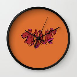 Save the Best for Last Wall Clock