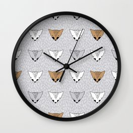 Shaggy faces Wall Clock