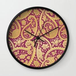 Seamless Art - 1 Wall Clock