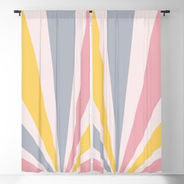 Retro Sun Blackout Curtain