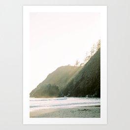 Ocean Beams Art Print