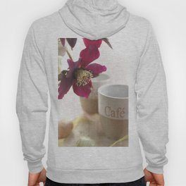 Modern Coffee Still Life for Kitchen Hoody