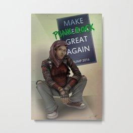 Make Punk Rock Great Again Metal Print