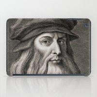da vinci iPad Cases featuring Leonardo da Vinci by Palazzo Art Gallery