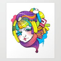 Starry Eyed Art Print