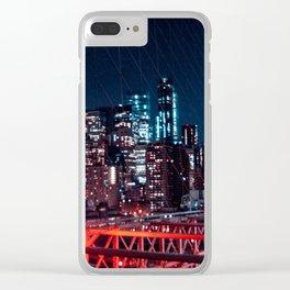 Brooklyn Bridge Bright Clear iPhone Case