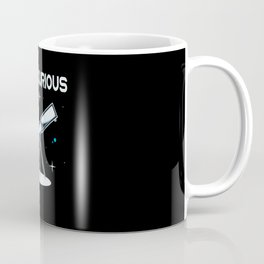 Stay Curious Telescope Astronomy Astronomer Coffee Mug