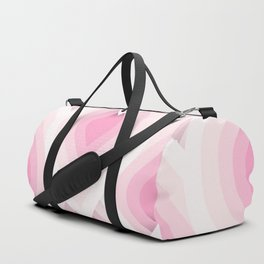 70s retro pink Duffle Bag