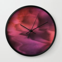 Lost in Waves Wall Clock