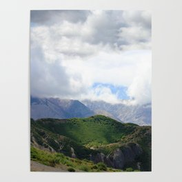 Saint Under The Clouded Sky Poster