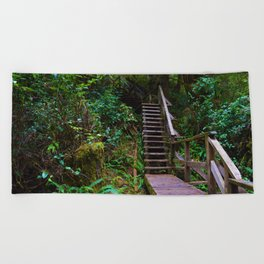 Staircase to heaven Beach Towel