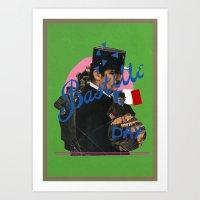 bastille Art Prints featuring bastille day by crayon dreamer