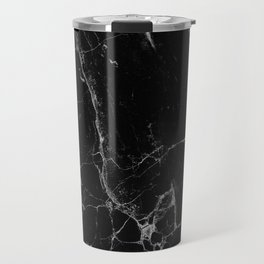 Marble, Print, Minimal, Scandinavian, Abstract, Pattern, Modern art Travel Mug