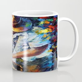 Music Love Guittar Coffee Mug