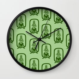 Sobek-Ra Wall Clock