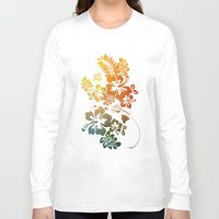 hibiscus Long Sleeve T-shirts featuring Hibiscus by Synergy